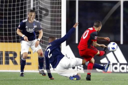 SOCCER: MAY 12 MLS - Toronto FC at New England Revolution