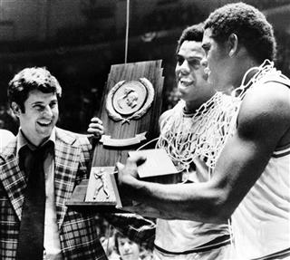 Bobby Knight, Scott May, Quinn Buckner