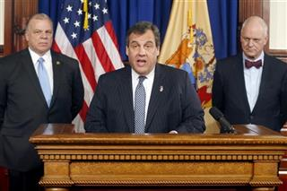 Stephen Sweeney, Chris Christie, Don Guardian