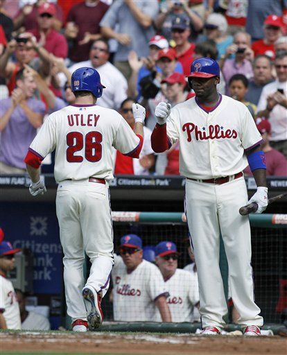 Chase Utley,Ryan Howard