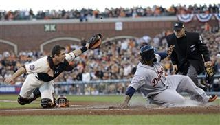 World Series Tigers Giants Baseball