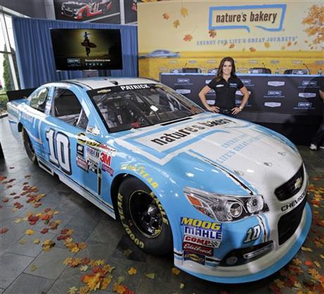 Danica Patrick stays with SHR new sponsor Natures Bakery – Race Car Sponsorship Contract