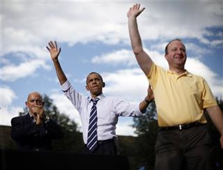 Barack Obama, Jared Polis, Joe Garcia