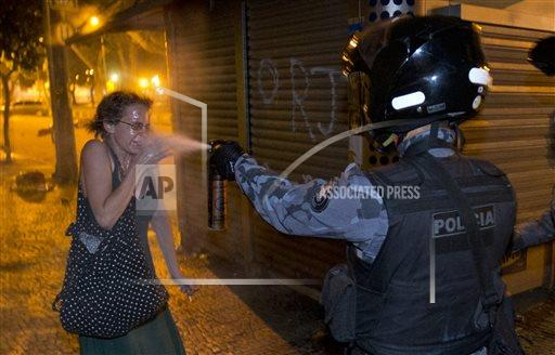 AP10ThingsToSee Brazil Confed Cup Protests