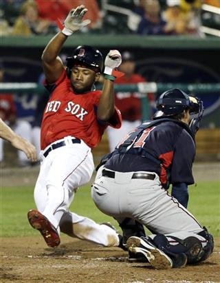 Jackie Bradley Jr., Danny Lehmann