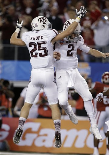 Johnny Manziel, Ryan Swope
