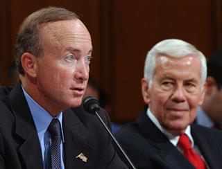 Mitch Daniels, Righard Lugar