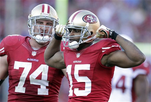 Michael Crabtree, Joe Staley