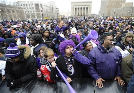 Super Bowl Ravens Celebration Football