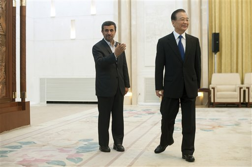 Wen Jiabao,  Mahmoud Ahmadinejad