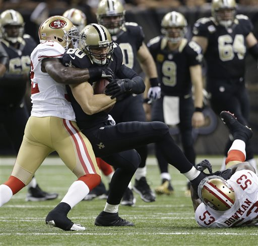 Jimmy Graham, Patrick Willis, NaVorro Bowman