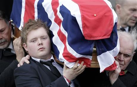 Britain Northern Ireland Funeral