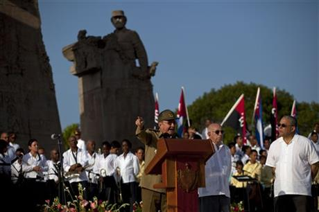 Raul Castro, Jose Ramon Machado Ventura,