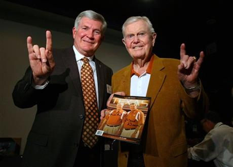 Mack Brown, Darrell Royal