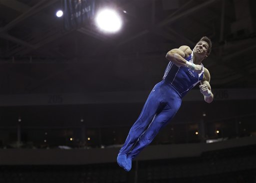 APTOPIX Olympic Trials Gymnastics