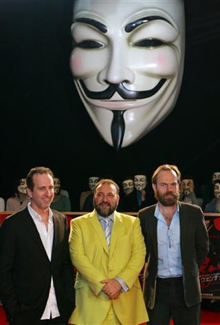 Hugo Weaving, James McTeigue, Joel Silver