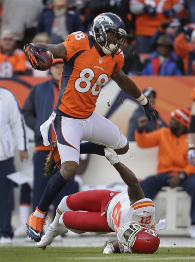 Demaryius Thomas, Javier Arenas