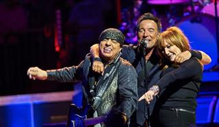 Bruce Springsteen, Stevie Van Zandt, Patti Scialfa
