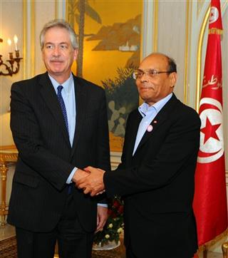 Moncef Marzouki, William Joseph Burns