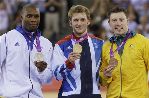 Jason Kenny, Gregory Bauge, Shane Perkins