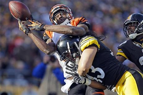 A.J. Green, Troy Polamalu