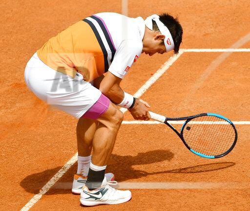 Tennis: Italian Open quarterfinals