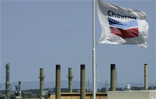 Chevron oil refinery
