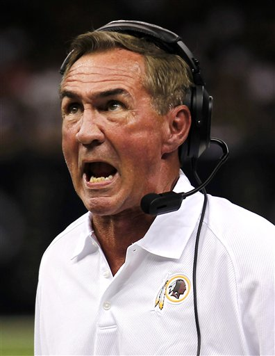 Mike Shanahan, Redskins