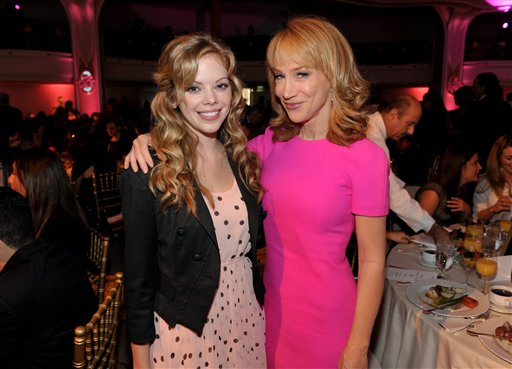 Dreama Walker, Kathy Griffin