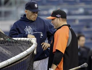 Joe Girardi, Jim Thome