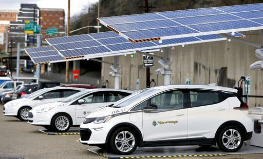 Solar Powered Pittsburgh Cars