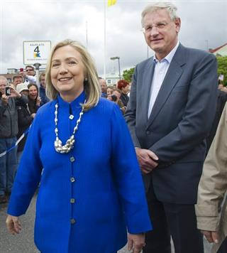 Sweden US Clinton