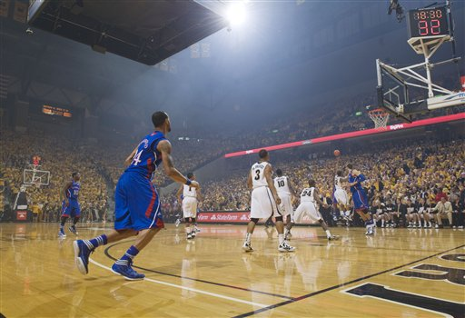 Kansas Missouri Basketball