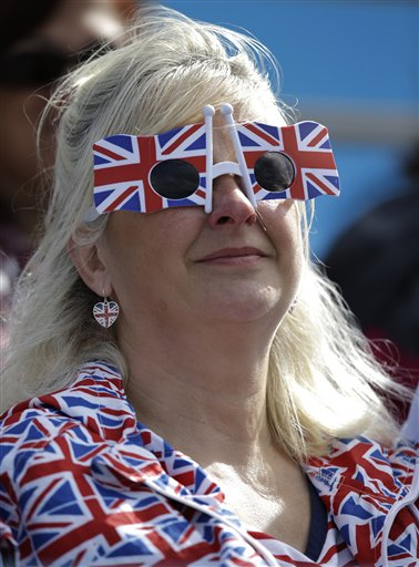 London Olympics Flag Fashion