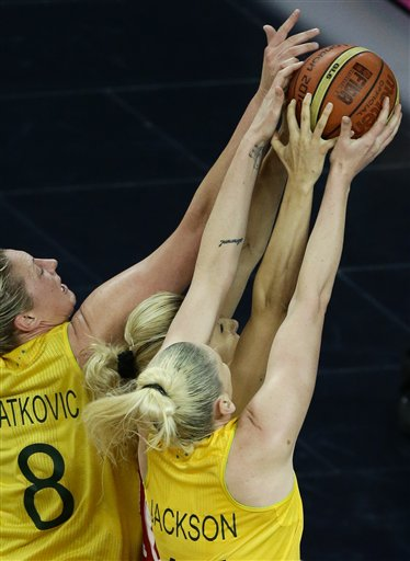 London Olympics Basketball Women