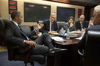 Barack Obama, Robert Mueller, Lisa Monaco, Eric Holder,  Tony Blinken, Joe Biden