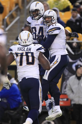 Chargers Steelers Football