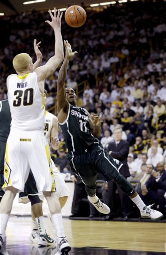 Aaron White, Keith Appling
