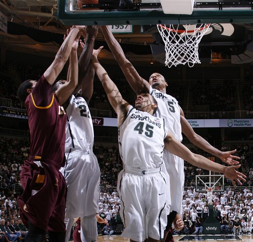 Jordan Hicks, Branden Dawson, Denzel Valentine, Adreian Payne