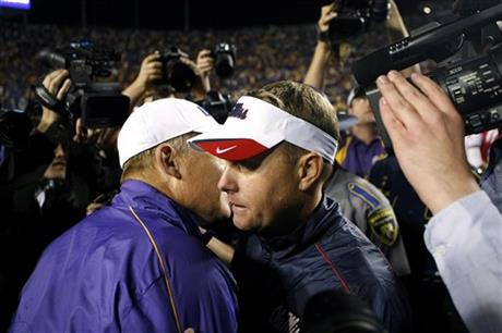 Hugh Freeze, Les Miles