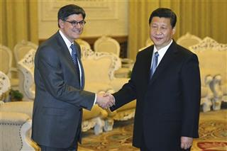 Xi Jinping, Jacob Lew