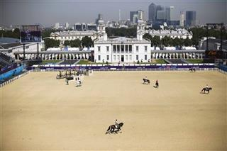 London Olympics Equestrian