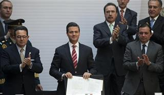 Enrique Pena Nieto, Francisco Arroyo Vieira, Ernesto Cordero