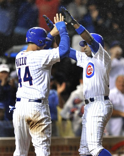Alfonso Soriano, Anthony Rizzo