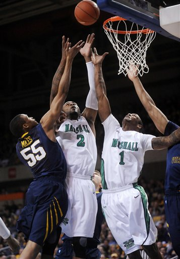 Marshall WVirginia Basketball