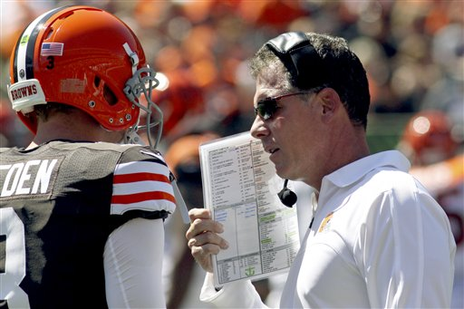 Pat Shurmur, Brandon Weeden