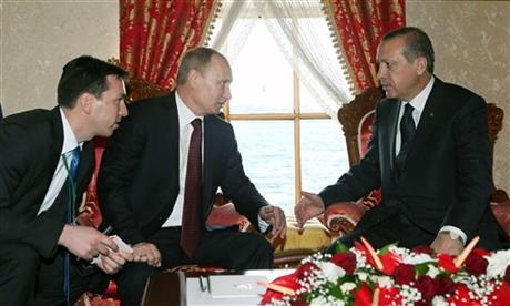 Vladimir Putin, Recep Tayyip Erdogan