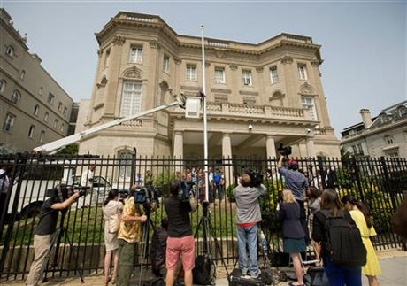 Washington and Havana reopen embassies