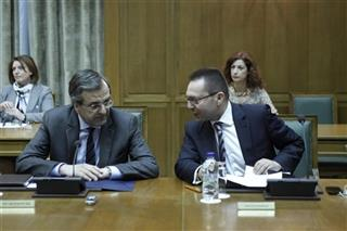 Antonis Samaras, Yannis Stournaras
