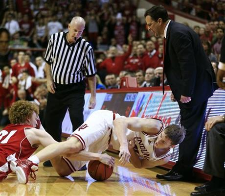 Tom Crean, Cody Zeller, Mike Bruesewitz
